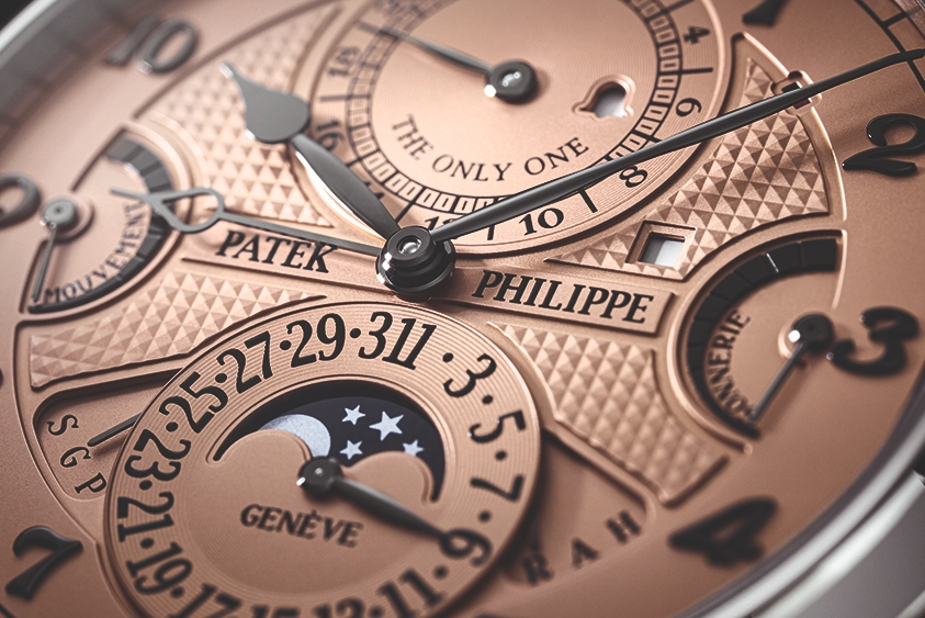 2.18亿!百达翡丽腕表成史上最贵手表