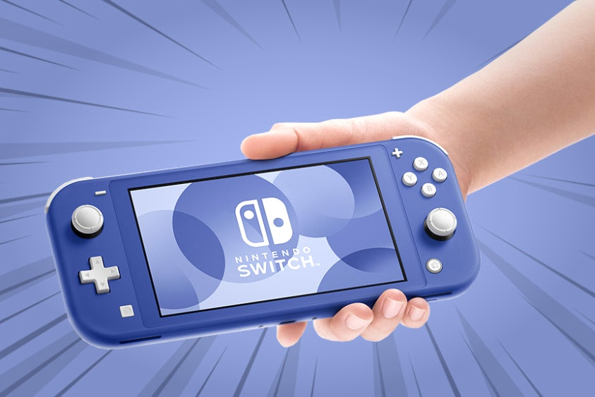 是你要的颜色吗?Switch Lite蓝色版将于5月21日上市