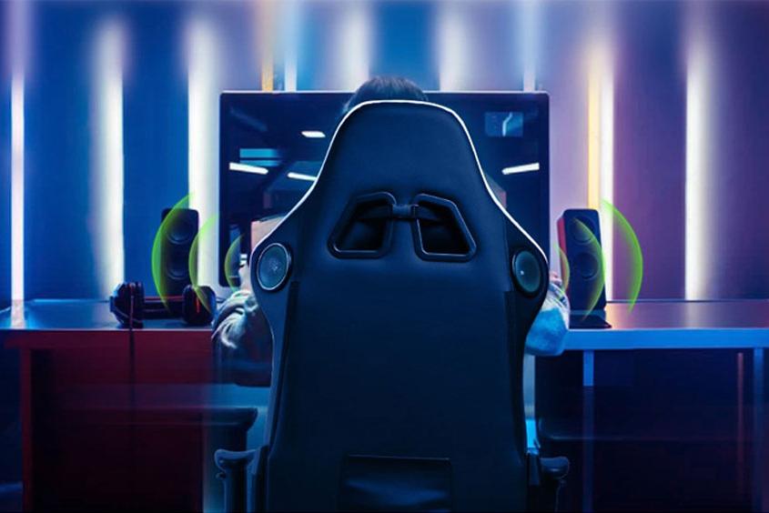 GTRacing音乐电竞椅开售 可提供环绕立体声