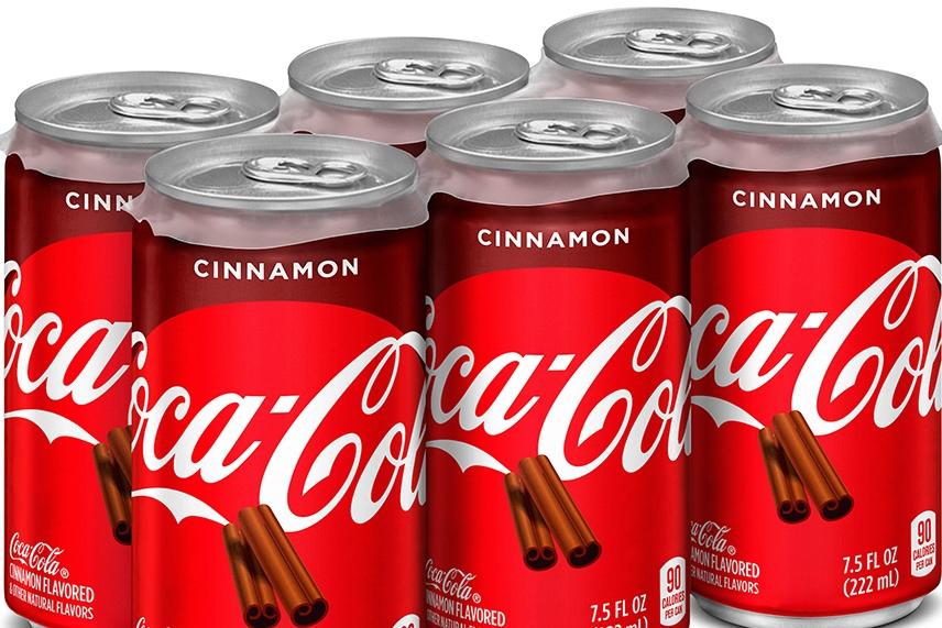 可口可乐将推肉桂味和蔓越莓味雪碧