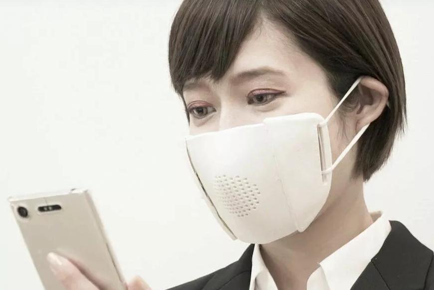 日本开发出可与智能手机配合使用的智能口罩