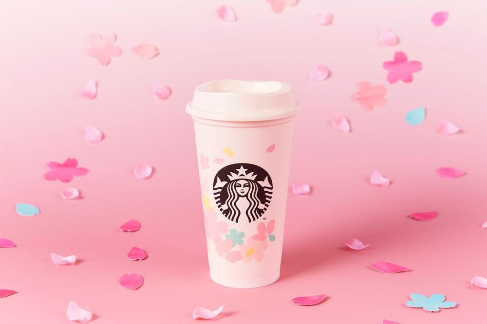 日本星巴克推出樱花季限定 宅家也能轻松赏花