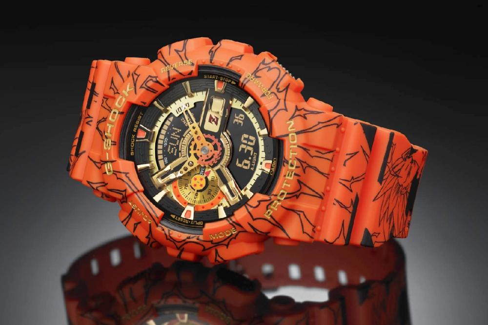 卡西欧联手《龙珠》推新款G-SHOCK腕表