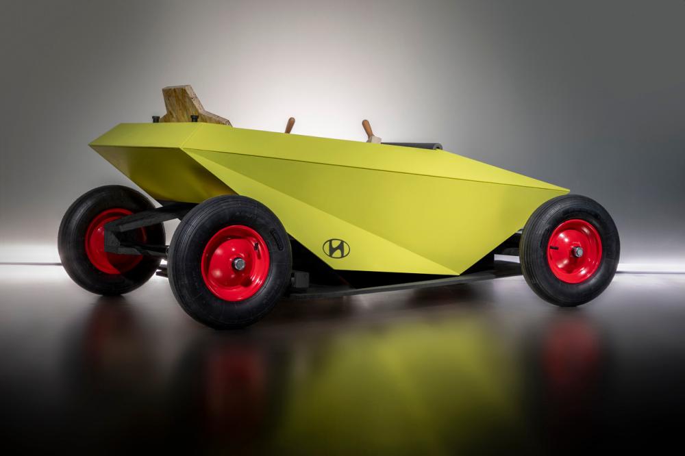 为疫情生活打造:现代推DIY汽车产品soapbox
