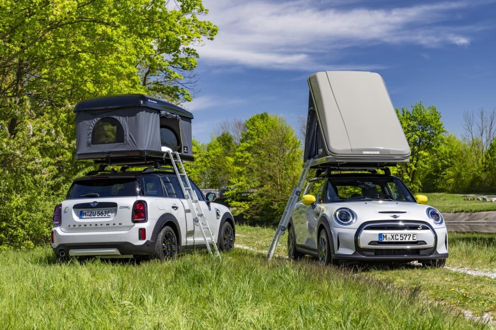 Mini公司首次推出露营和户外装备