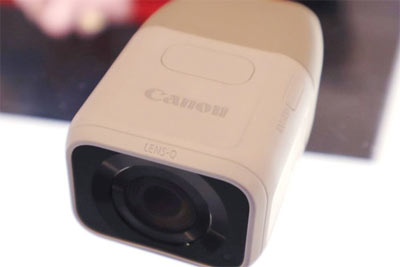 佳能又玩新创意 Lens Q 100-400原型机曝光