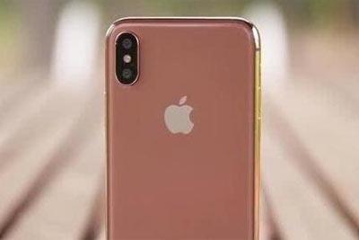 """""""腮红金""""iPhone X量产中?女生们喜欢么"""
