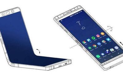 三星Galaxy X折叠手机新消息 Note8般大小