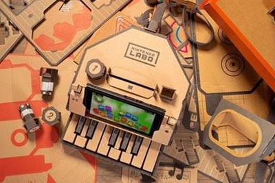 任天堂Switch Labo体验 一堆纸皮是如何撬开脑洞的?
