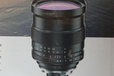 泽尼特将推出徕卡M口Zenitar 35mm f/1镜头