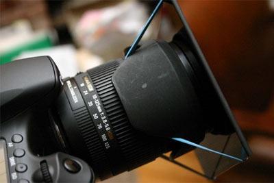 玩摄影不要哭穷 只要30块自制ND减光镜