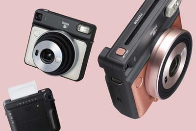 富士Instax SQ6拍立得相机宣传图曝光
