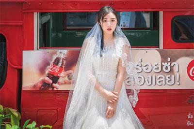 谁说中午不能拍人像 捕捉泰国街头唯美婚纱