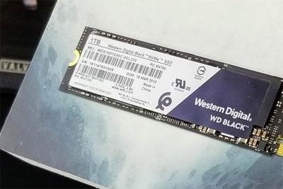 西部数据发布Black 3D NVMe SSD:为游戏定制