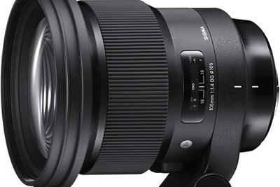 适马105mm f1.4 Art镜头25日开始预订 定价揭晓