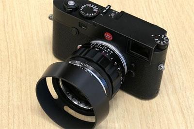 确善能推出徕卡M卡口50mm f1.2镜头
