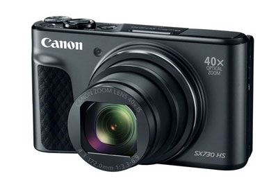 40倍光学变焦的卡片机 佳能SX740 HS相机曝光