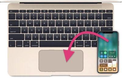 苹果申请新专利:Mac将使用iPhone作为触控板