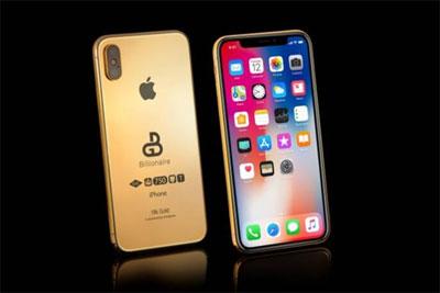 奢侈品公司接受新iPhone X预订:纯金版78万元