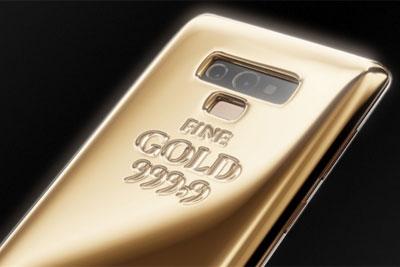 俄罗斯珠宝商推出纯金版Note 9:售价约41万元