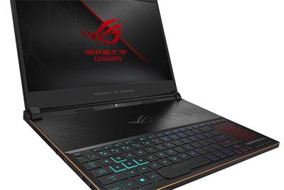 华硕发布号称全球最薄的游戏笔记本电脑Zephyrus S