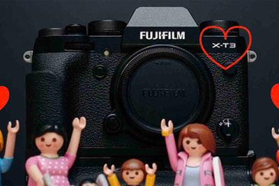 富士X-T3相机将于9月6日发布 首批外观照曝光