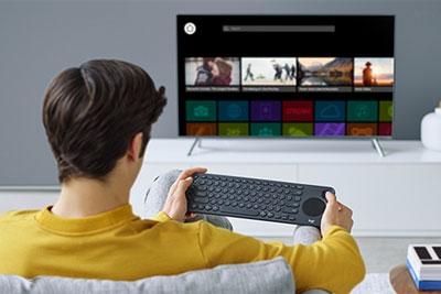 罗技发布K600电视键盘 无线双模/自带触摸板和方向键