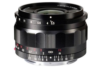 确善能将19日发布福伦达Color-Skopar 21mmf/3.5镜头