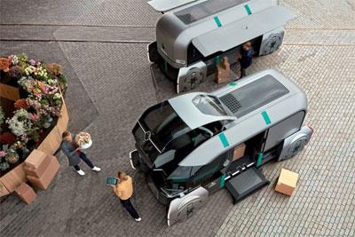 雷诺公布EZ-Pro概念车 展望城市包裹递送的未来