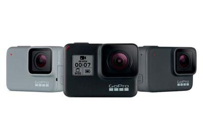 GoPro发布新款Hero 7运动相机