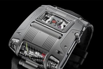 不敢看!URWERK腕表又出脑洞设计,限量50支竟售92万