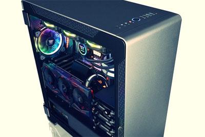 曜越科技推出新款PC机箱:双面钢化玻璃+预装3风扇