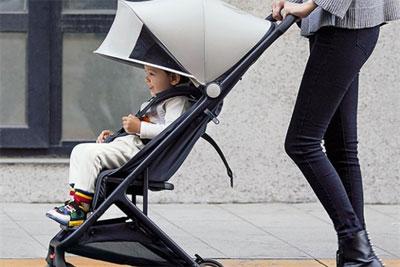 699元 米兔折叠婴儿推车发布:一秒收车 可上飞机