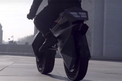 全球首辆全3D打印电动摩托车亮相 无气轮胎 匪夷所思