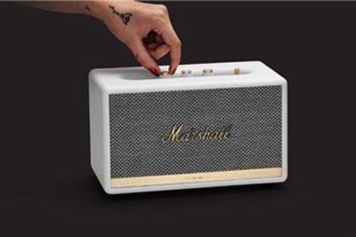 搭谷歌语音助手:Marshall两款智能音箱上架美国官网