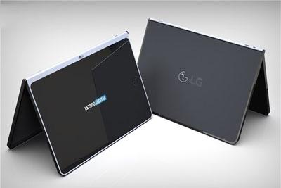 LG无边框平板电脑曝光,配有可拆卸无线键盘