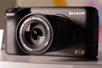 夏普8K相机售价公布 定价两万元左右