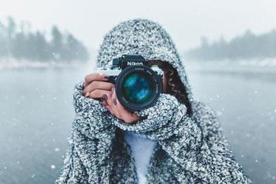 冬日迎来鹅毛大雪 与你分享这些拍雪小创意