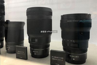 尼康CP+展示五款未发布全画幅无反镜头
