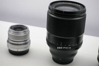 富士XF 33mm F1.0 R WR镜头体积?#38477;?#26377;多大!