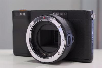 永诺YN450现身CP+ 安卓系统的智能相机