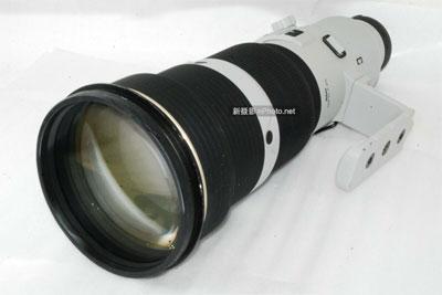罕见白色!尼康AF-S 500mm F/4 D II镜头现身eBay
