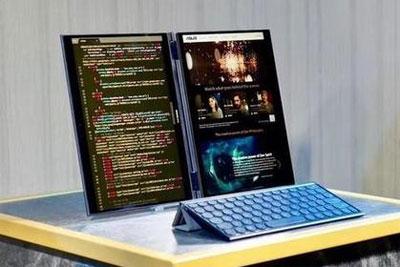 脑?#21019;?#24320;!?#21271;始?#26412;电脑遇到折叠屏会变成怎样