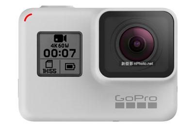 亦黑亦白!GoPro发布HERO 7 Black白色限量版