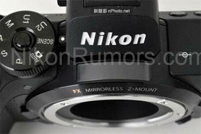 尼康Z1入门级全画幅无反相机首张谍照曝光