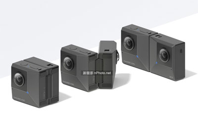 Insta360发布EVO折叠式全景裸眼3D相机