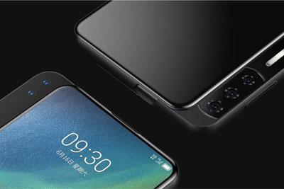 中兴AXON S新机曝光:侧滑设计/氙气闪光灯/屏幕指纹