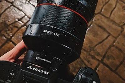 三阳发布索尼卡口85mm f/1.4 FE镜头