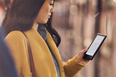 亚马逊推全新Kindle 售价低于90美元 增加了屏幕照明