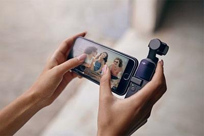 39美元 大疆Osmo Pocket口袋相机出新配件